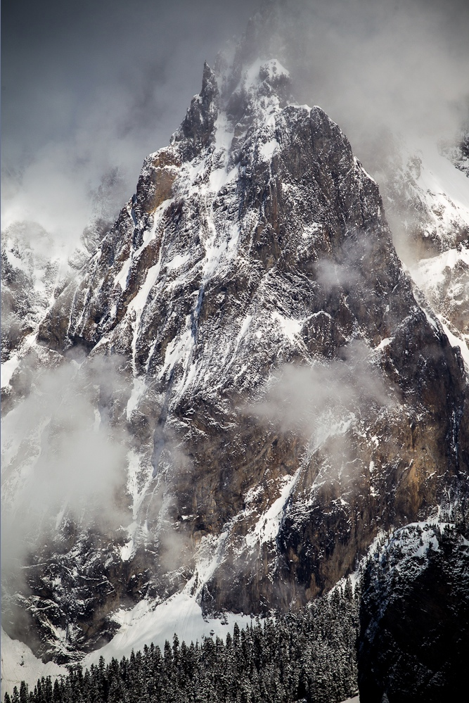 Mt. Cayley, Squamish, BC. MARK GRIBBON PHOTO.
