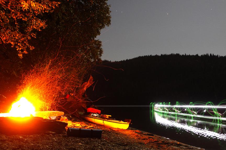 Wells Gray National Park — Oct.09 (kayak adventure)