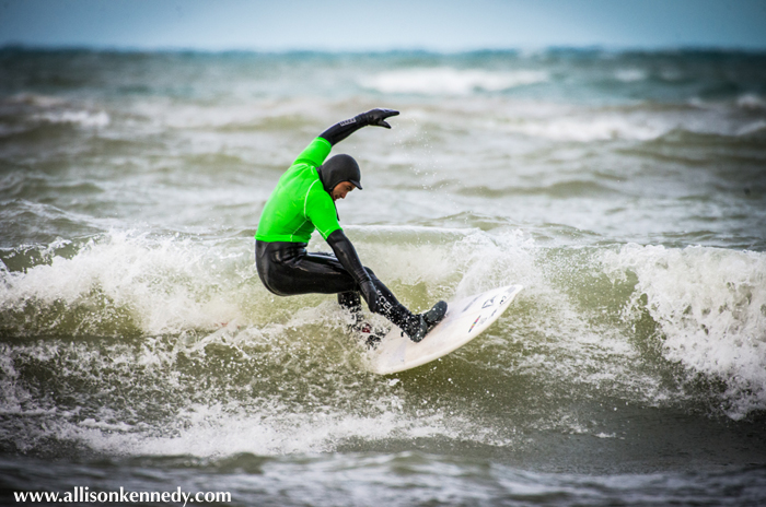 Antonia Acuna was the big winner on the day: Acuna picked up the win in the Longboard division, second in Shortboard, won Wave of the Day and was awarded an Aloha Spirit Award for his contributions to the Great Lakes surfing community.