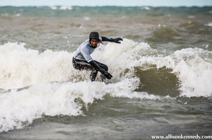Matt Rocheford made a huge impression, winning the Shortboard division with his aggressive moves.
