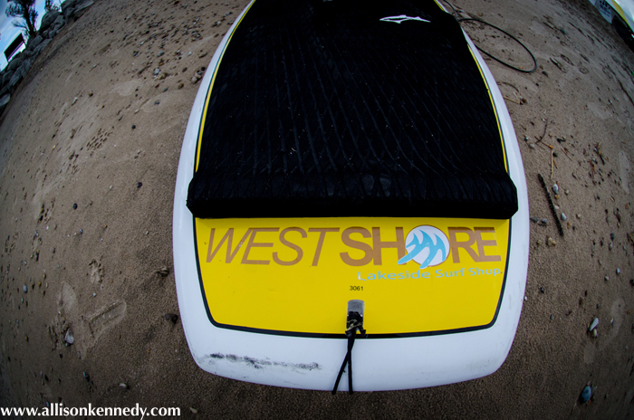 West Shore Lakeside Surf Shop backed the event with some huge prizes.