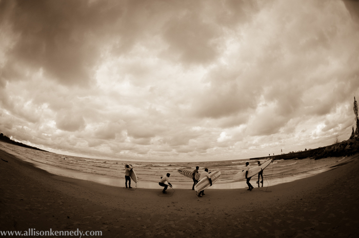 Great Lakes surfers are a dedicated, soulful bunch.