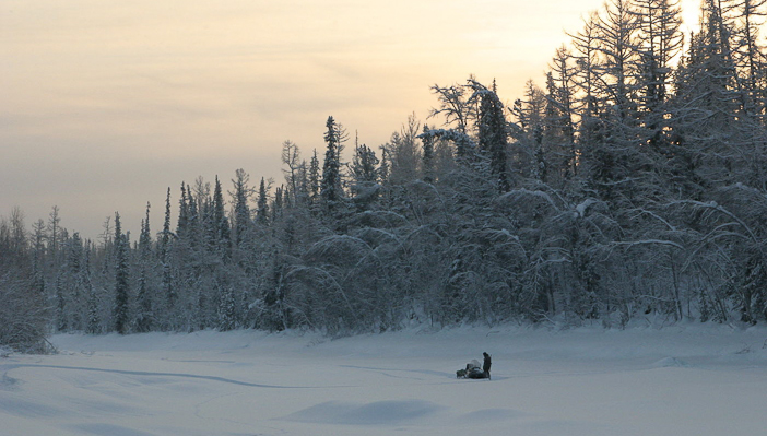 Still from Happy People: A Year in the Taiga.
