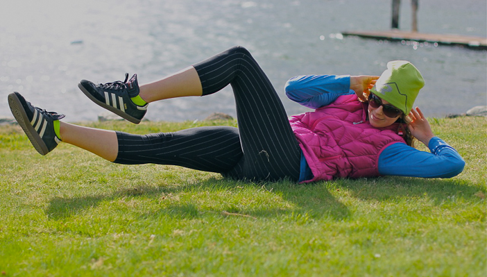 The ol' knee-core. Courtesy www.outdoorresearch.com