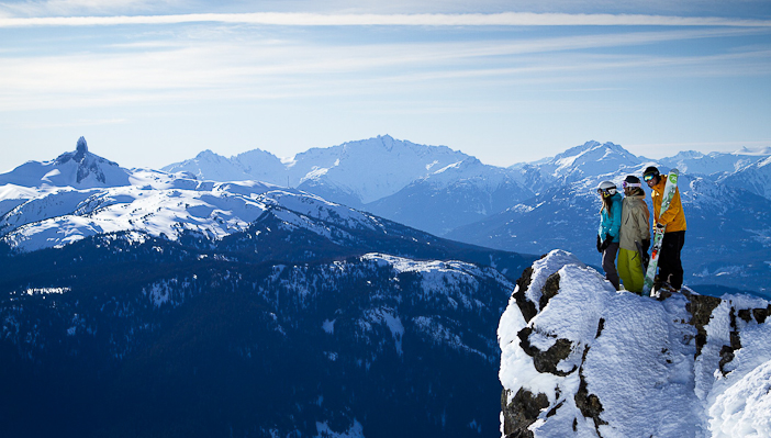 Photo by Justa Jeskova. Courtesy Whistler Blackcomb.