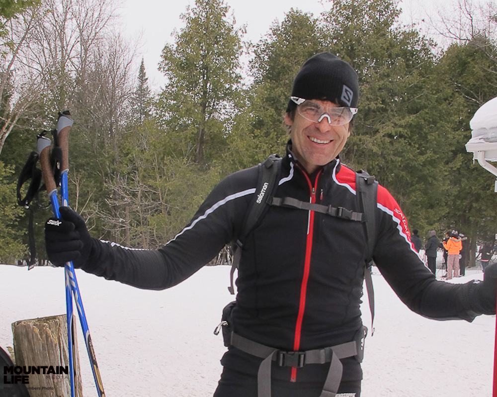 Olympian Bill Trayling. Photo by Melanie Chambers.