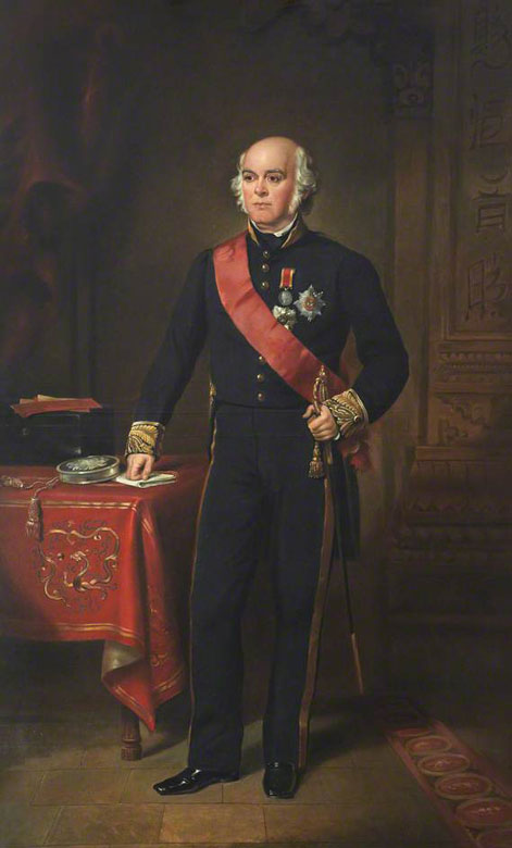 James Bruce, 8th Earl of Elgin, Governor General of India, Lord Lieutenant of Fife. By Francis Grant, 1864–1865. Image courtesy bbc.co.uk