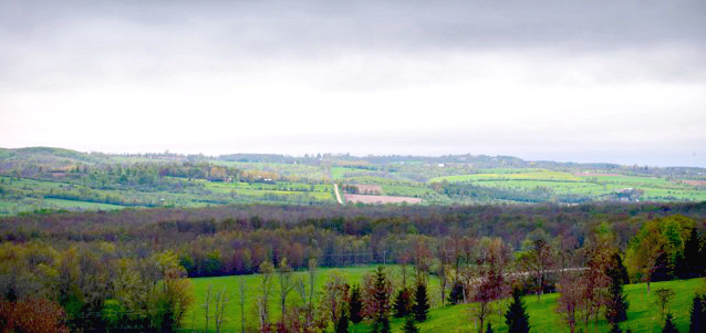 Beaver Valley apple country. Photo by Allison Kennedy Davies.