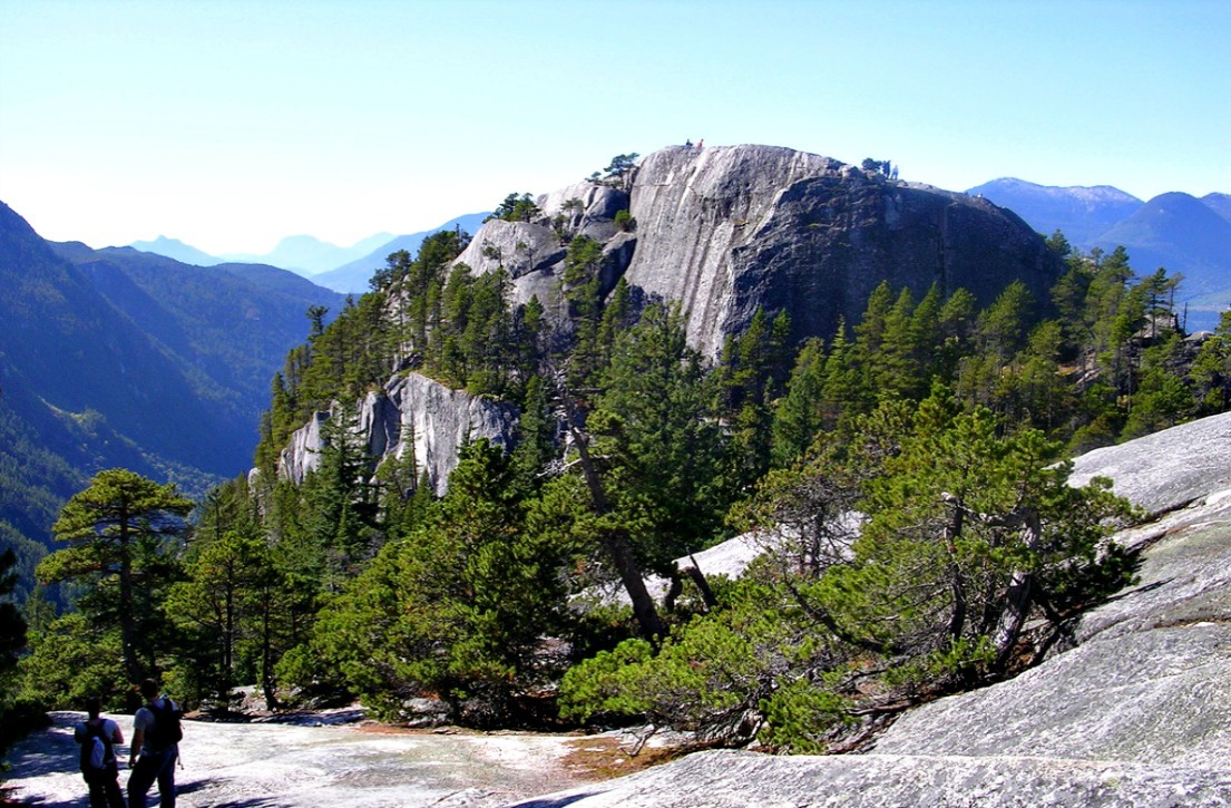 Stawamus Chief, via Wikimedia Commons.