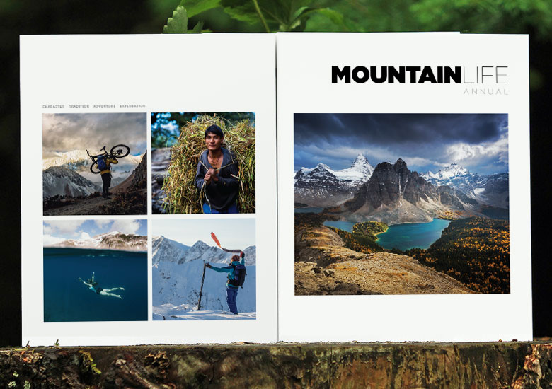 Subscribe to the Mountain Life Annual today and support meaningful, reader-driven journalism. MLA is a manifestation of the collector's, coffee table approach to top-notch print that combines photography and adventure journalism into one unified publication.