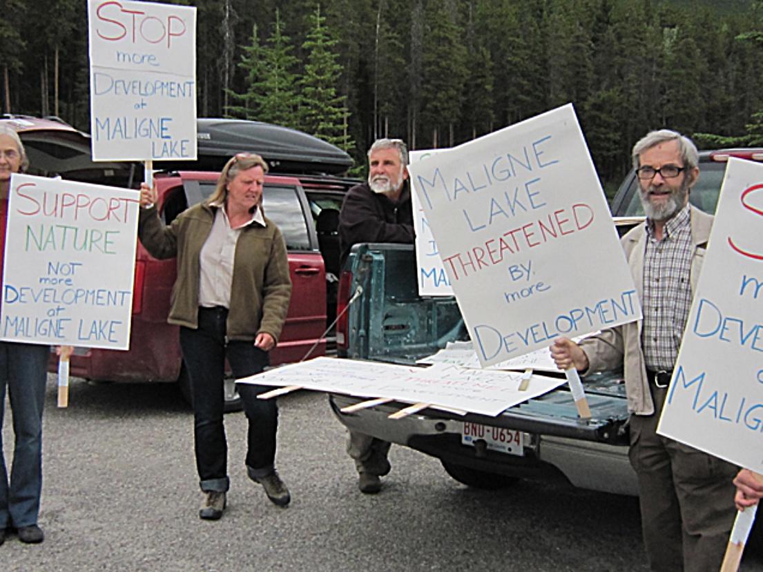 MaligneLakeProtest