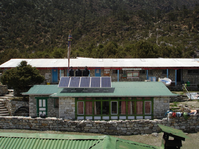 The Kunde Hospital, which has been funded by the Sir Edmund Hillary Foundation for over 34 years.