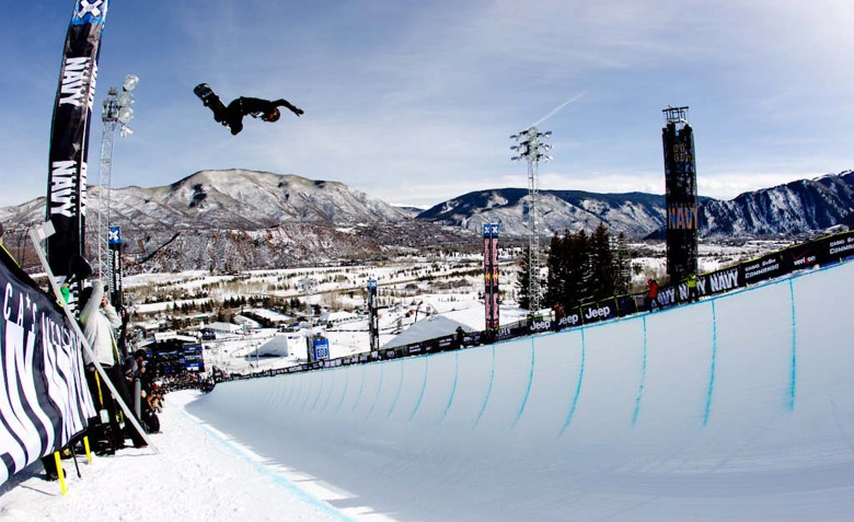 Shaun White at last year's X Games, Aspen.