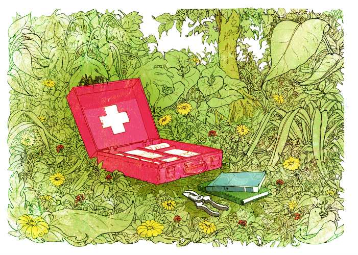 Illustration by Dave Barnes.