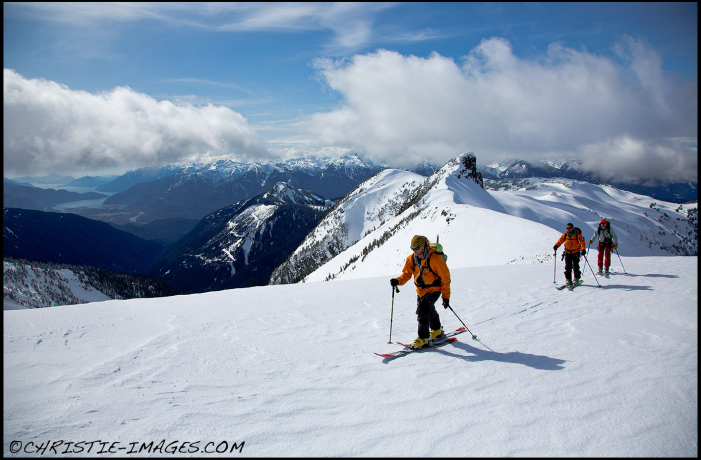 At Garibaldi. Photo by Chris Christie/courtesy Helly Hansen.