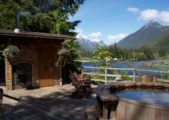 Campside Hottub View