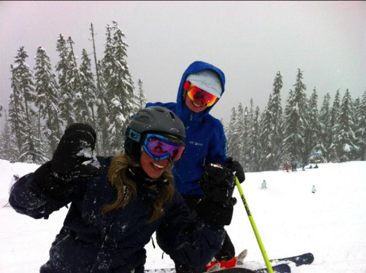 girl-ski