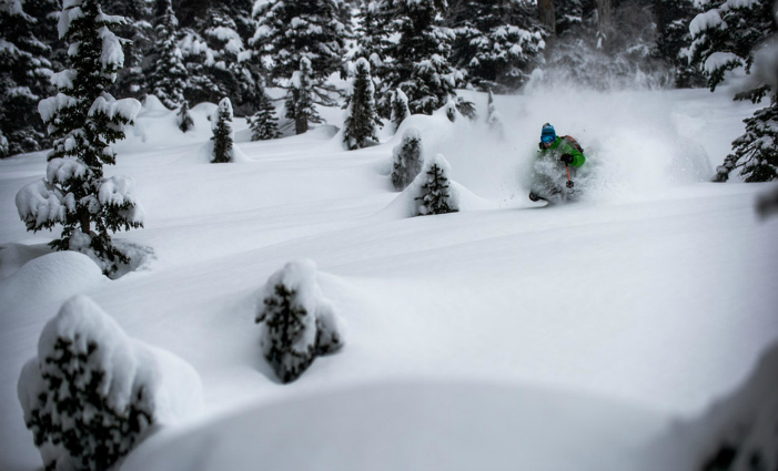 Photo by Reuben Krabbe/courtesy Northern Escape Heliskiing.