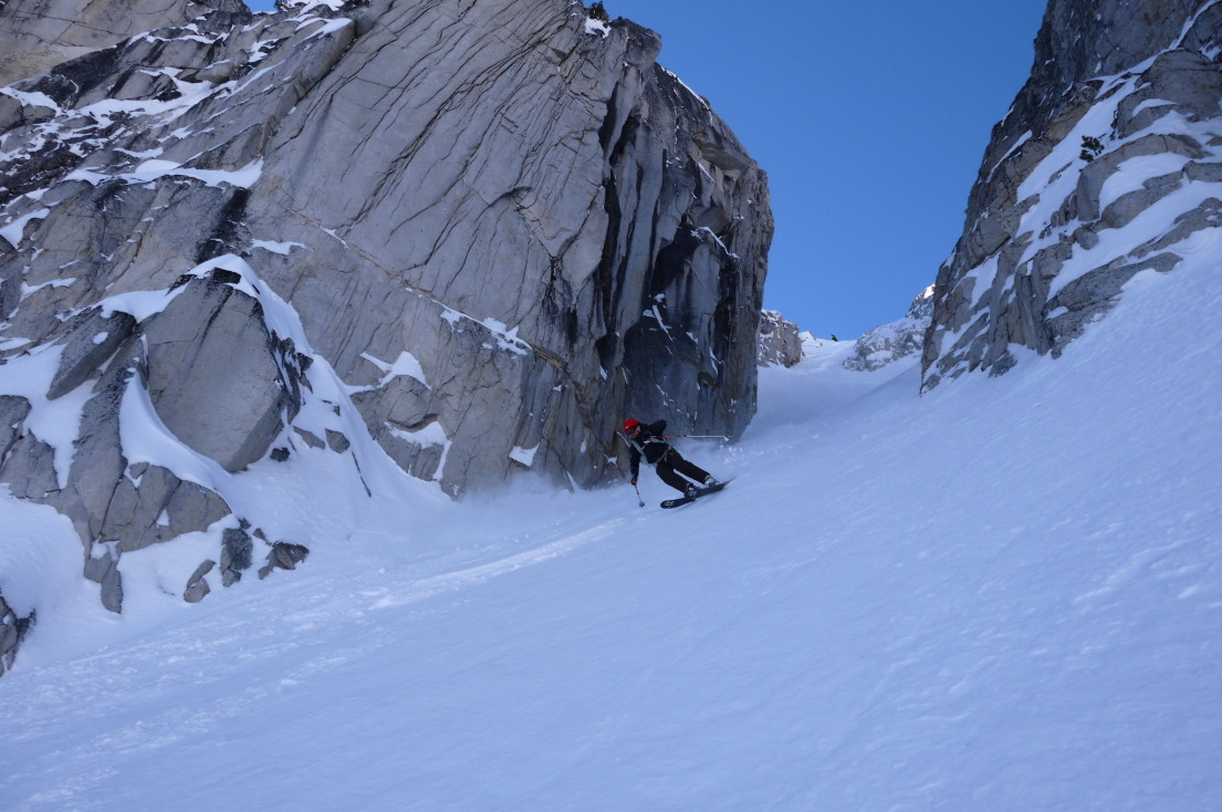 Couloir Hunting - Blackcomb backcountry