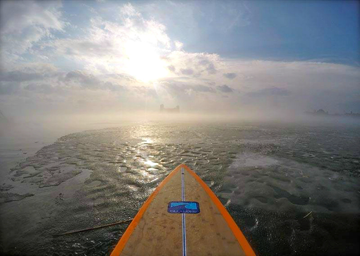 A new dawn over the Bay for Blu Wave. Photo courtesy Blu Wave SUP.