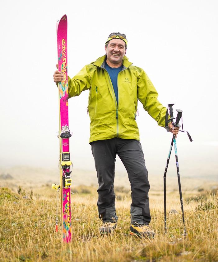 Ramiro Donoso, Ecuadorian guide. STEVE OGLE PHOTO.
