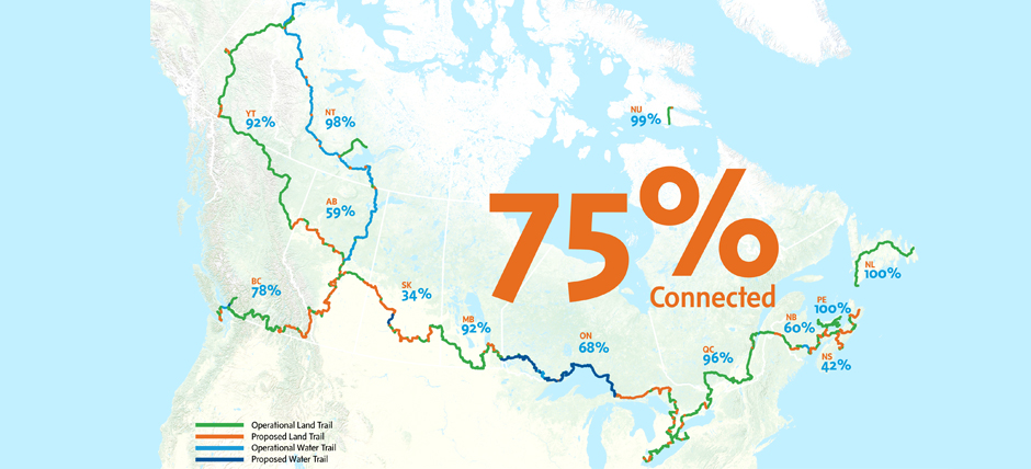Map courtesy The Trans Canada Trail.