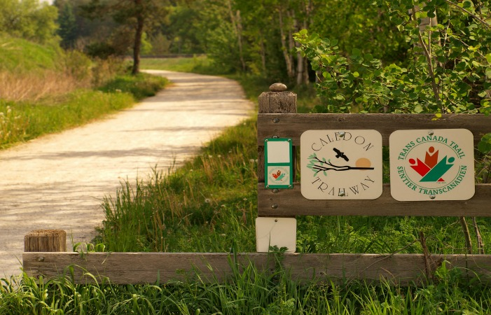 The Trans Canada Trail. Via WikiMedia Commons.