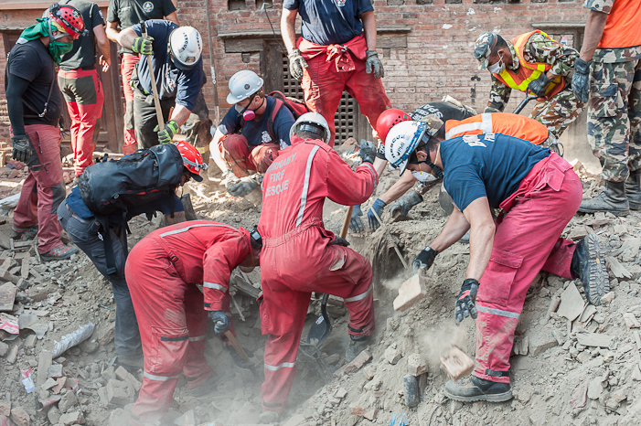 Day 4: The old city of Kathmandu. SHAUN MADIGAN PHOTO.
