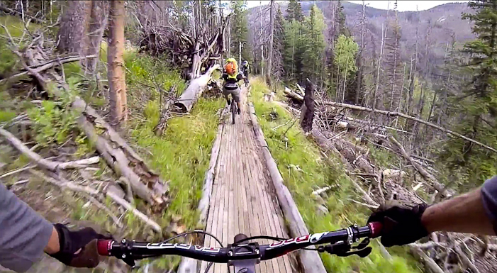 """Screen grab from """"The Forgotten Trails of the Uintas""""."""