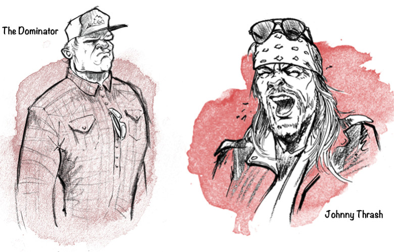 Illustrations by Dave Barnes