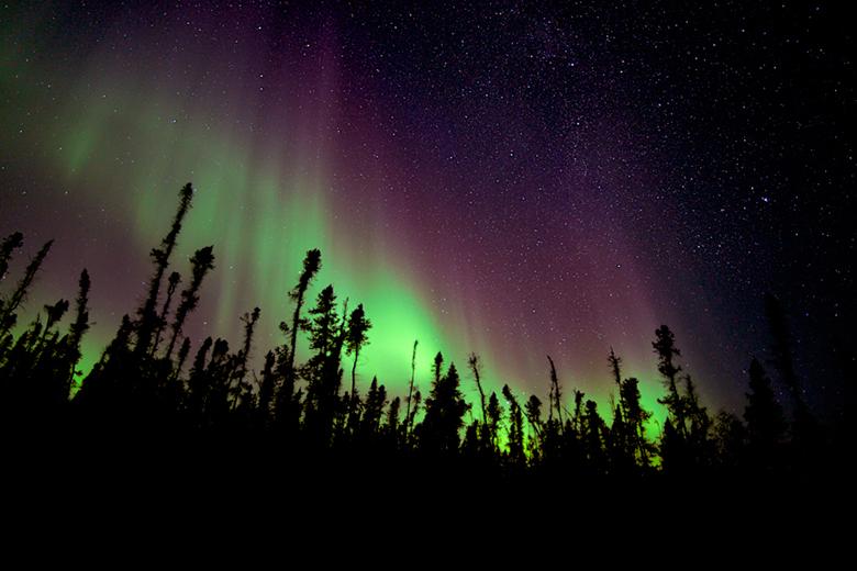 Aurora Borealis, North West Territories. EIRC BECKSTEAD PHOTOS