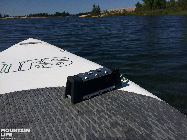 #myhomewaters on the NRS Baron 6 inflatable SUP and Fugoo Tough Bluetooth Speaker.