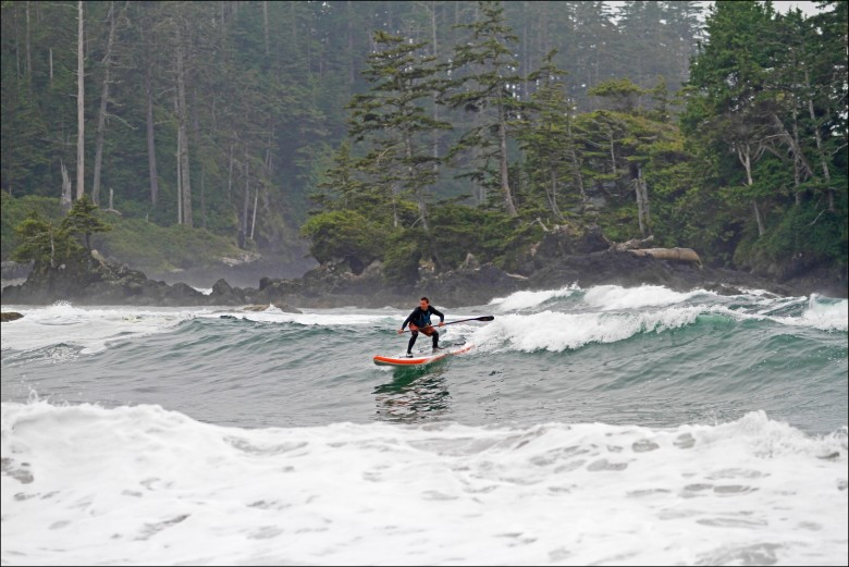 The author finds some West Coast wonder. Jimmy Martinello photo.