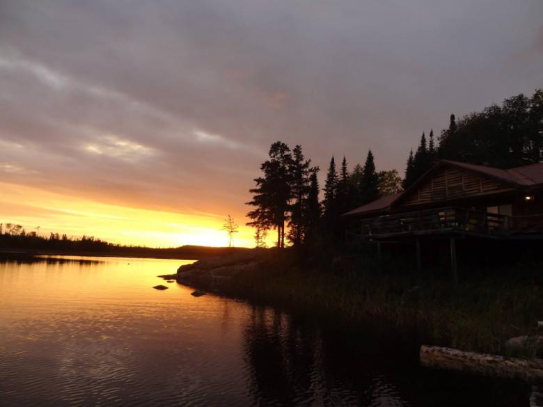 Errington's Wilderness Island Sunset