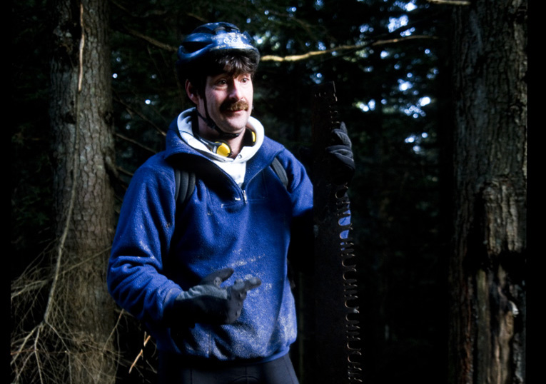 todd 'digger' fiander from 1997 on mt.fromme, bc