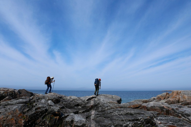 17 - July 28 - Fish Harbour to White River Lake Superior - Cedric and Magee Trail Stripy Sky D