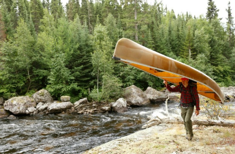4 - Aug 3 - Quetico Olifaunt Lake - Cedric Portage 2