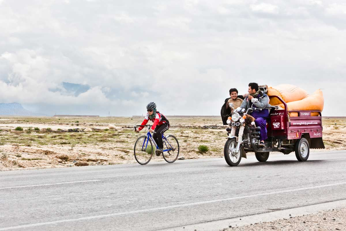 The sight of girls on bikes is still uncommon throughout most of Afghanistan, even more progressive areas like Kabul.