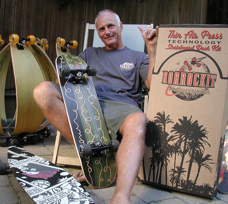 Ted Hunter. Courtesy Roarockit.