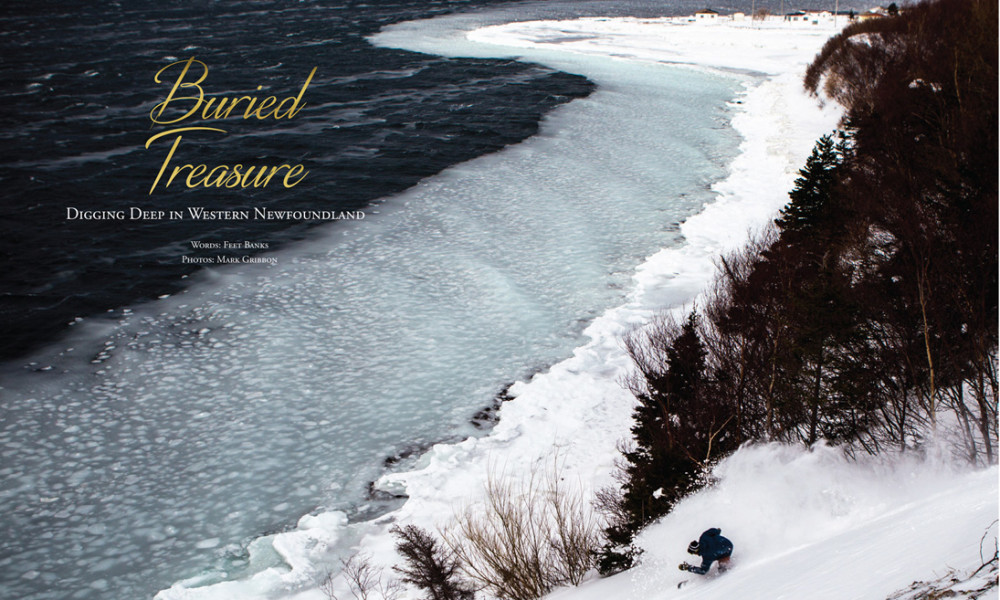 Beau Bishop Newfoundland Snowboard