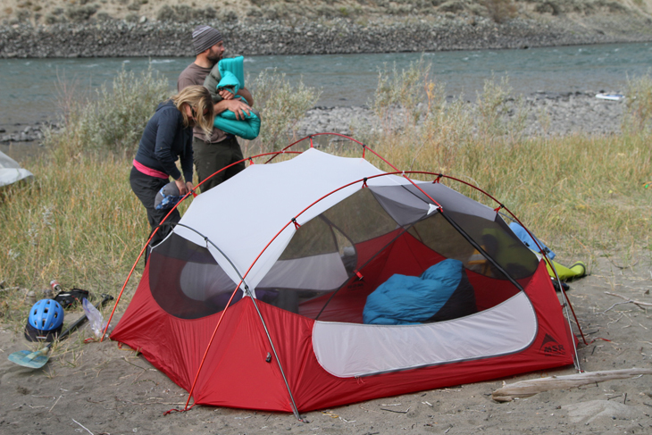 MSR Papa Hubba Tent & MSR Papa Hubba Tent - Mountain Life