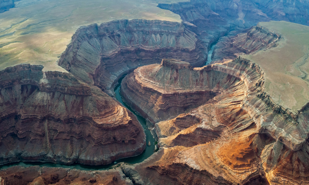 Aerial Images Of Marble Canyon, Grand Canyon.