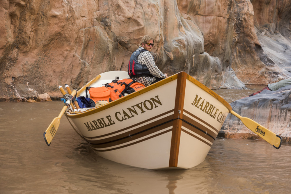 A Grand Canyon Dory trip on a 14-day, 277-mile trip through the Canyon down the Colorado River.