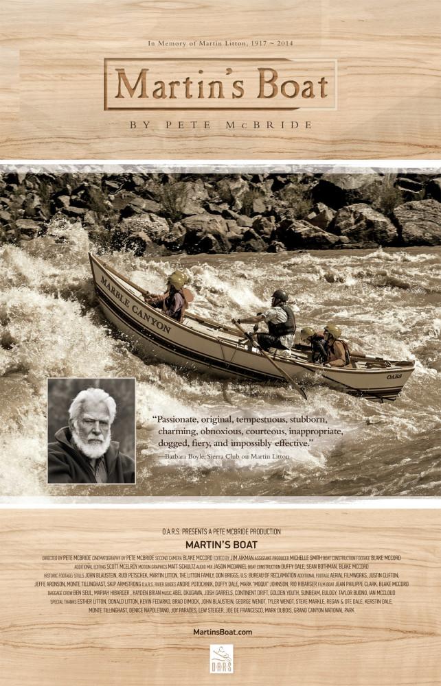 Martin's Boat poster