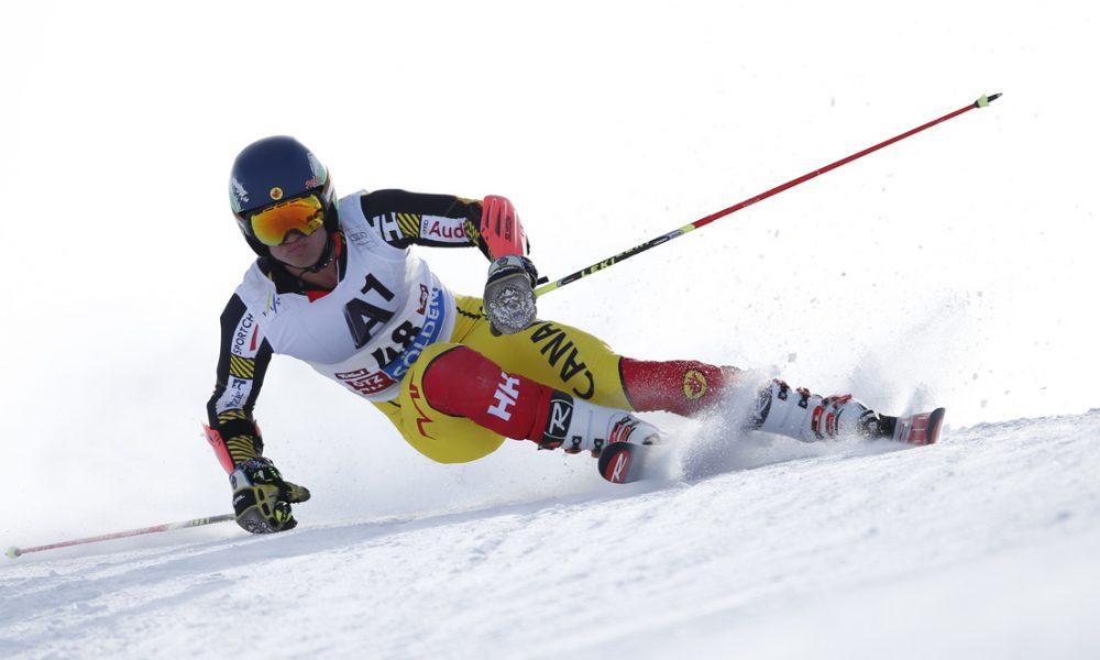 Ski World Cup 2015-2016. Trevor Philp(CAN) slalom gigante. Soelden 25-10-2015 (Photo/ Shin Tanaka-Pentaphoto)