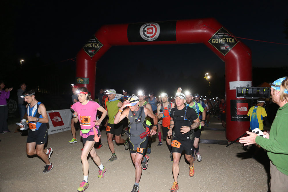 Night start, Blue Mountain. Photo courtesy Ultra Race Photos.