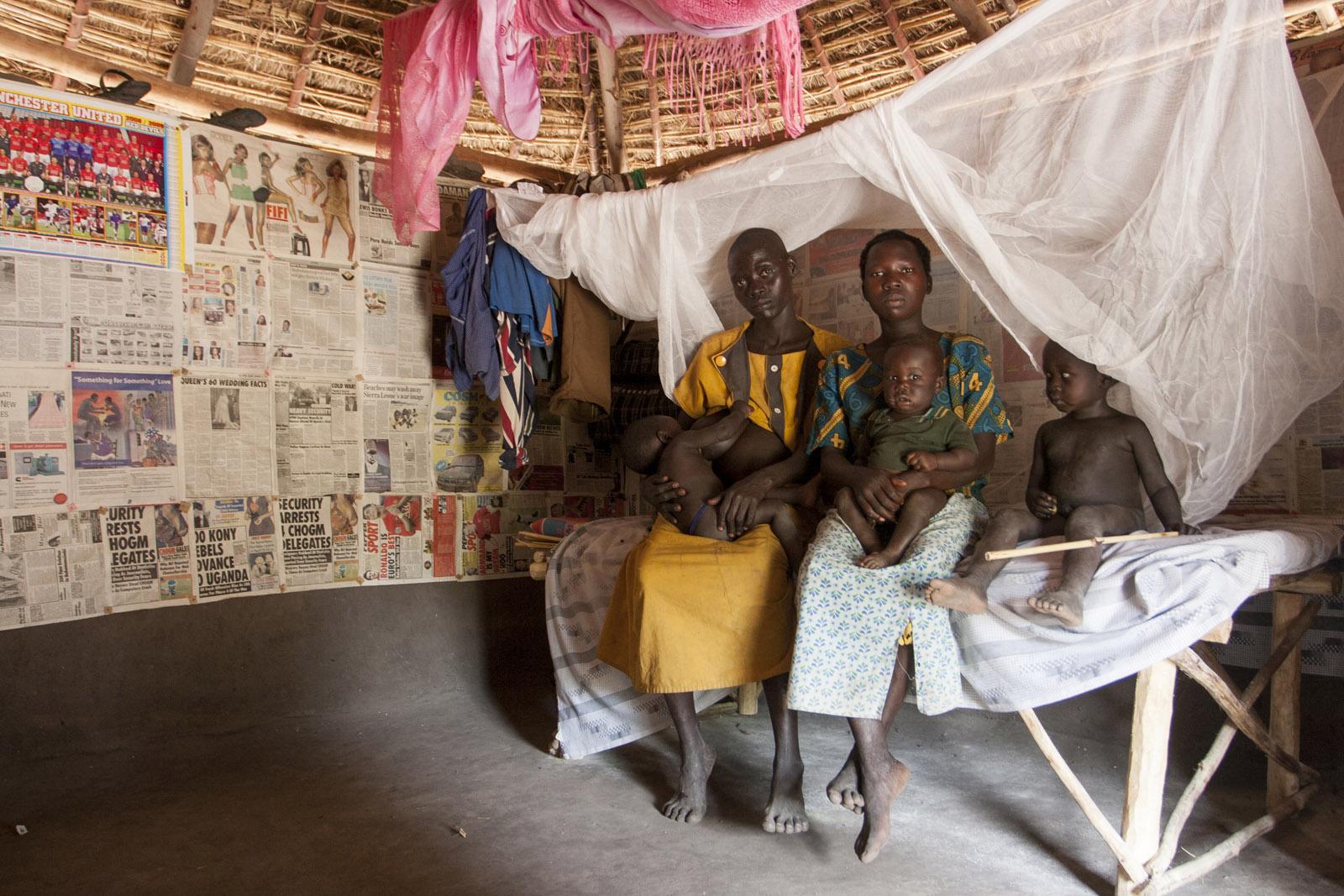 Mosquito Net Beneficiaries_Pajama parish, Uganda