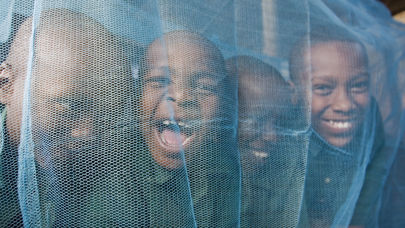 Mosquito Net kids_Arusha Primary School, Tanzania