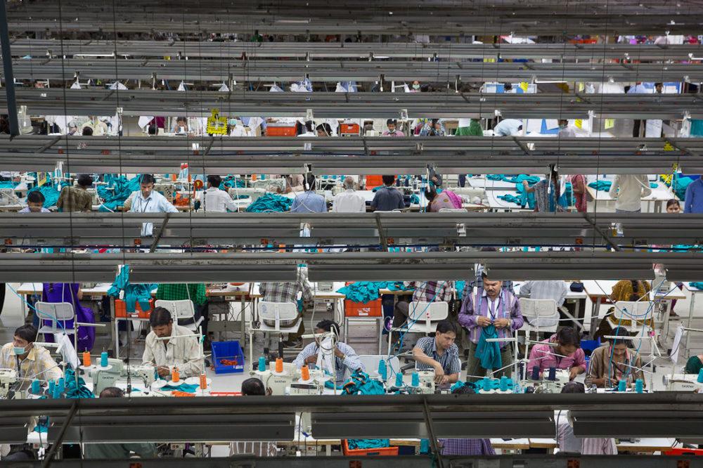 The main factory floor at Pratibha Syntex Ltd., Pithampur, Madhya Pradesh, India. COURTESY MEC.