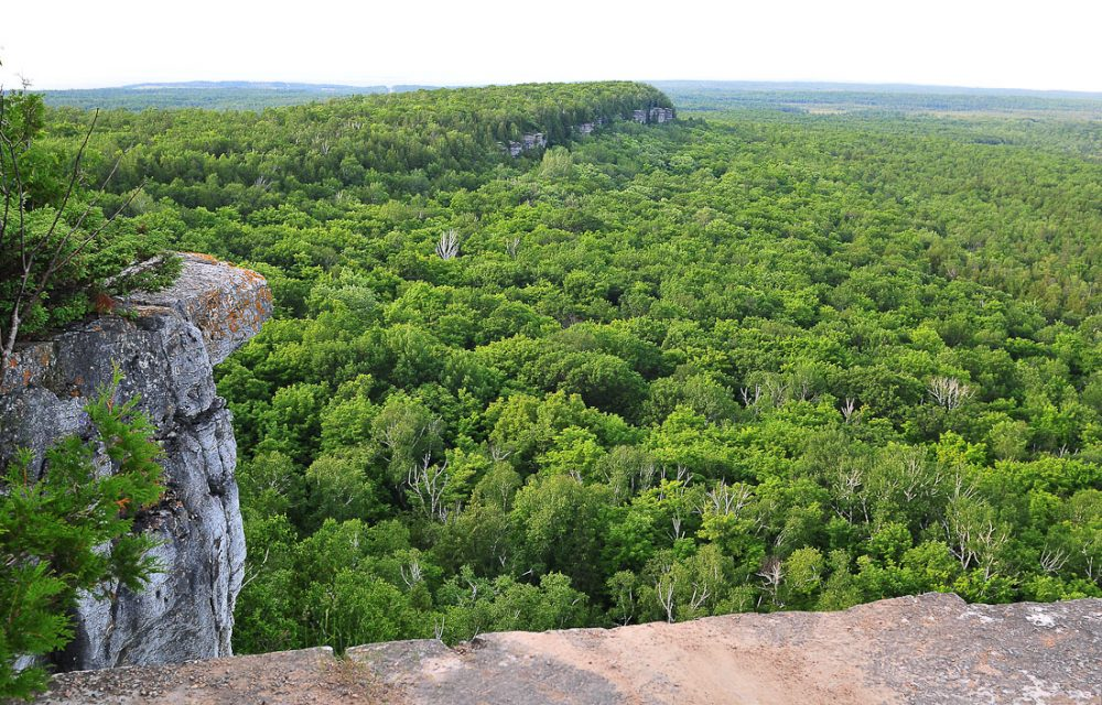 View from the Cup & Saucer Trail. Photo courtesy Ontario Tourism Marketing Partnership Corporation.